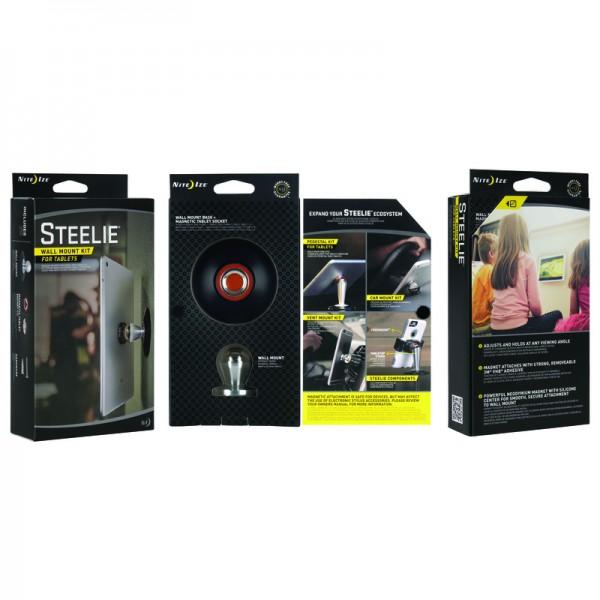 nite ize innovative accessories ni stwk 11 r8 steelie wall mount kit. Black Bedroom Furniture Sets. Home Design Ideas