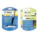 NITE IZE - Innovative Accessories - NI-IP-172 - INKA Allwetter-Stift, rostfreier Stahl, Blisterverpackung