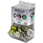 NITE IZE - Innovative Accessories - NI-SLGGB-06-ASST - Display SpotLit, Box, 48 pcs Standard