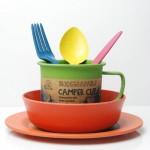 ECOSOULIFE - Sustainable Tableware - ES-CamperSetSide - Bamboo Camper Set Beilagenteller