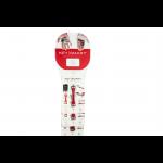 KEYSMART - Compact Key Holder - KS-ClipStrip - ClipStrip Display, 12 Stk