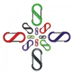 NITE IZE - Innovative Accessories - NI-SBP-T - S-Biner Plastik durchsichtig