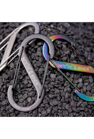 NITE IZE - Innovative Accessories - NI-SB - S-Biner Stainless Steel