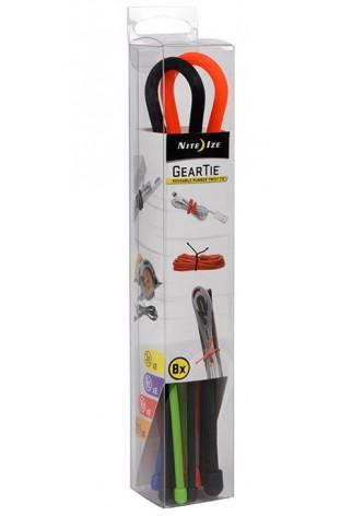 NITE IZE - Innovative Accessories - NI-GTBA-A2-R8 - Gear Tie Assortment, 8 pcs