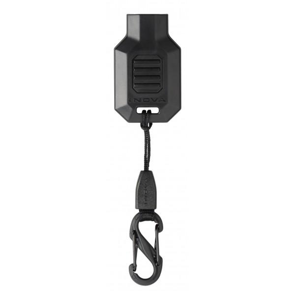 Inova Squeeze Light LED Keychain Torch 4.4 x 1.1 x 0.4 Inch Black