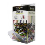 NITE IZE - Innovative Accessories - GT3GB-09-A1 - Gear Tie #3 Gravity Bin Display, 200 pcs