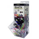 NITE IZE - Innovative Accessories - NI-GT6MGB-09-A1 - Mini Gravity Bin Display Gear Tie 6, 100 pcs