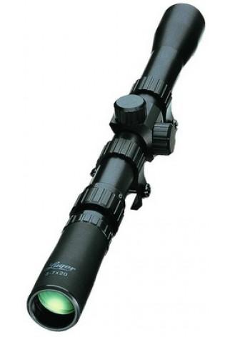 20-37X20 - Extrem klein und leicht. - Die Spezialisten für Luftdruck- und Kleinkaliberwaffen: Diese Gläser werden Sie kaum bemerken. Die Selbstmontage gestaltet sich über die mitgelieferten Montageringe für 11-mm-Prismenschienen schnell und einfach.     Z