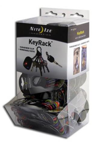 NITE IZE - Innovative Accessories - KRKGB-03-A1 - KeyRack Kunststoff-Thekendisplay, 48 Stk.