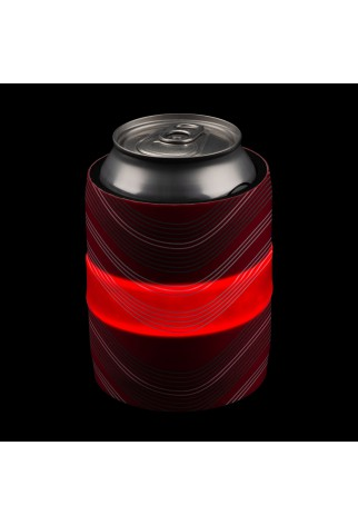 NITE IZE - Innovative Accessories - NI-SLDW-10-R3 - SlapLit LED Drink Wrap, rot