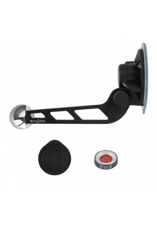 NITE IZE - Innovative Accessories - NI-STWSKP-01-R8 - Steelie® Windshield Mount Kit Plus