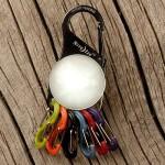 NITE IZE - Innovative Accessories - NI-KRL-03-02 - KeyLit – S-Biner Schlüsselanhänger mit LED