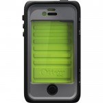 OTTERBOX - Protective cases - OB-2685105-77-26478 - Armor für iPhone 4/4S, Neon