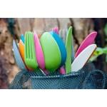 ECOSOULIFE - Sustainable Tableware - ES-BM-Cutlery - Bamboo Besteckset, 3 tlg.