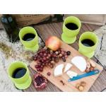 ECOSOULIFE - Sustainable Tableware - ES-EcoGobletSet - Bamboo Set Weinkelche