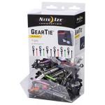 NITE IZE - Innovative Accessories - NI-GLZGB-A1-R9 - Gear TieClippable Twist Tie Gravity Bin