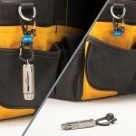 NITE IZE - Innovative Accessories - NI-MSBL - SlideLock 360° Magnetic Locking Dual Carabiner