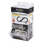 NITE IZE - Innovative Accessories - NI-SBGB-04-A2 - S-Biner Steel Size#4, Gravity Bin Display, 48 pcs