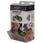 NITE IZE - Innovative Accessories - NI-SLGGB-06-A2 - SpotLit Gravity Bin Display new colours